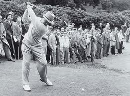 Sam Snead straight lead arm